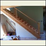 Cedar for post and spindles