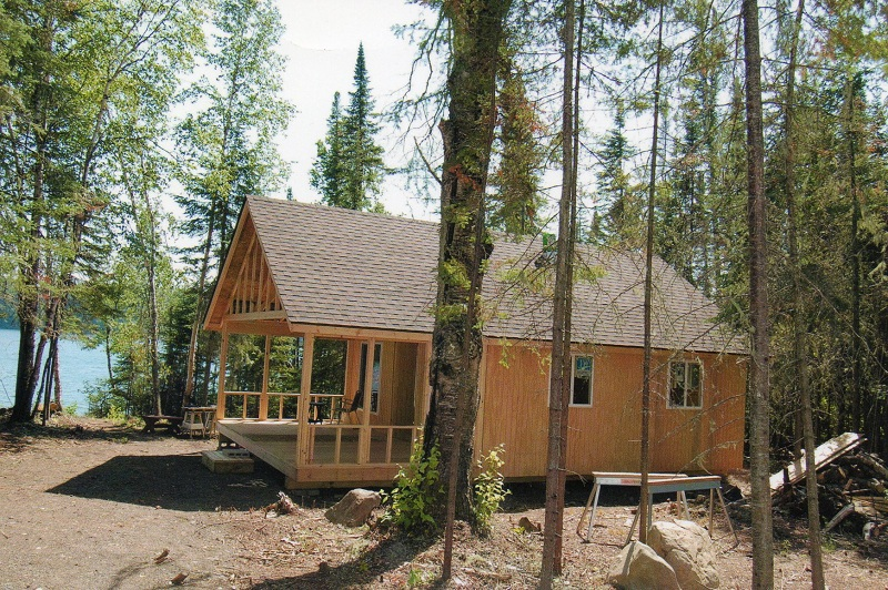 how to build a small bunkie