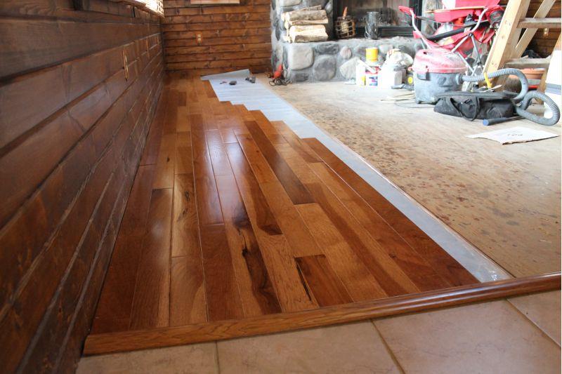 Hardwood Over Advantech Plywood Subfloor Small Cabin Forum