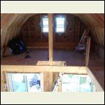 Hatch into main loft