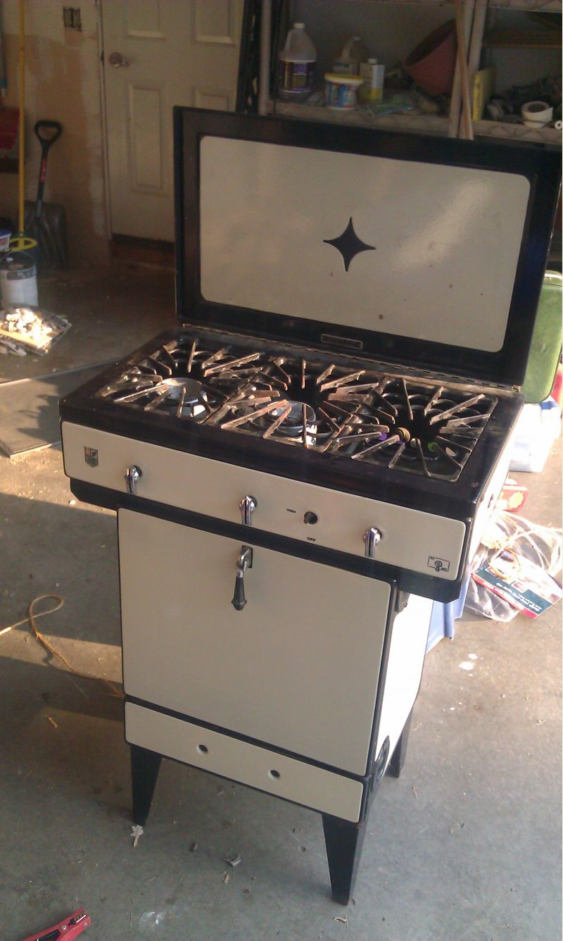 antique gas stove small cabin forum