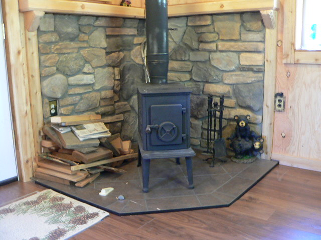 Wood Stove Heat Shield And Advice Small Cabin Forum