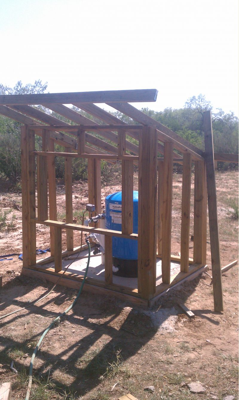 Water Well Shed First Build Small Cabin Forum