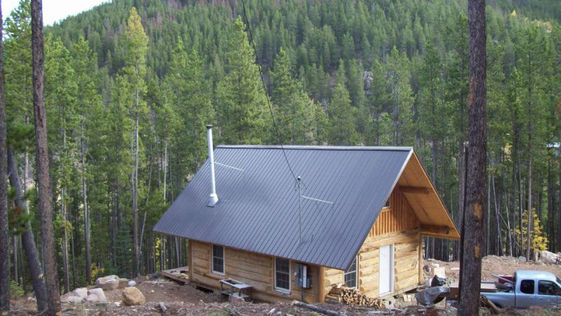 Rubber Chimney Boot For Steep Roof Small Cabin Forum