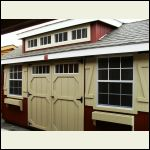 Shed with Dormer