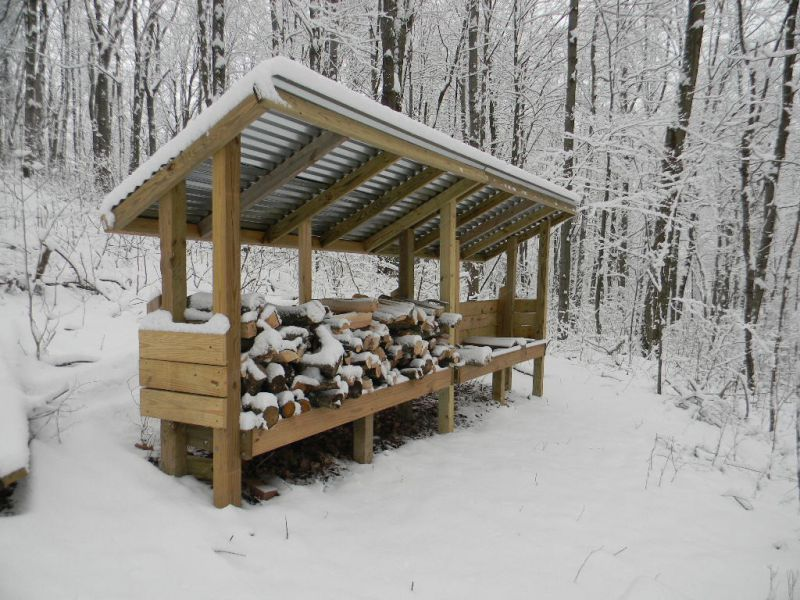 Shelter Building Wood Shed : How to build firewood rack plans with roof pdf