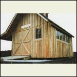 board and batten with plywood