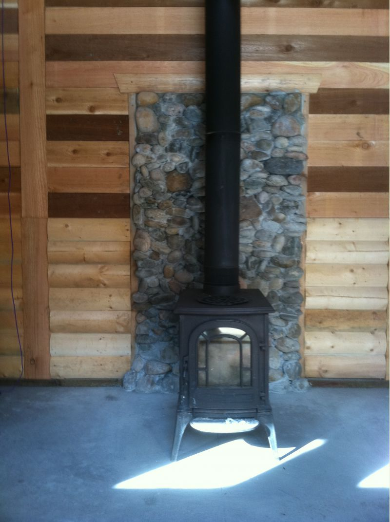 Wood Stove Install Small Cabin Forum