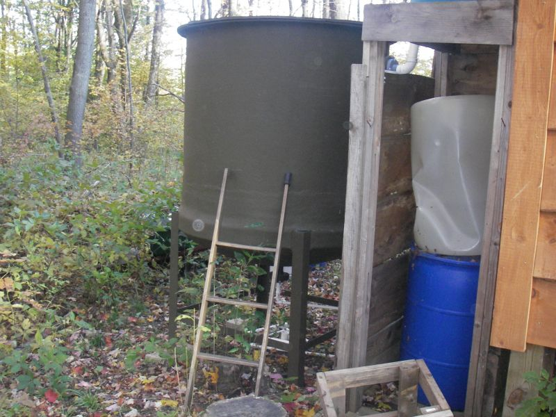 Hauling Water Holding Tank Up To Code Small Cabin Forum