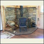 Original Fjord stove, replaced...