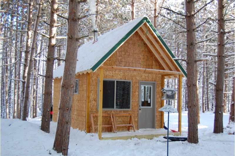 12x16 Storage Shed In Central Wi Small Cabin Forum 1