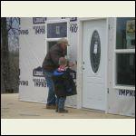 PawPaw Teaching Matt How to Secure the Door