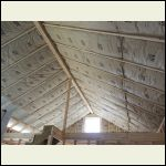 Ceiling & Gable in Lot Insulated