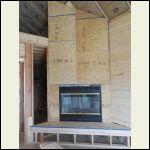 Fireplace Framed Up
