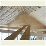 Gable Sided & Ceiling Started