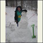 Matt's First Snowman