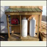 Generator & Propane Shed