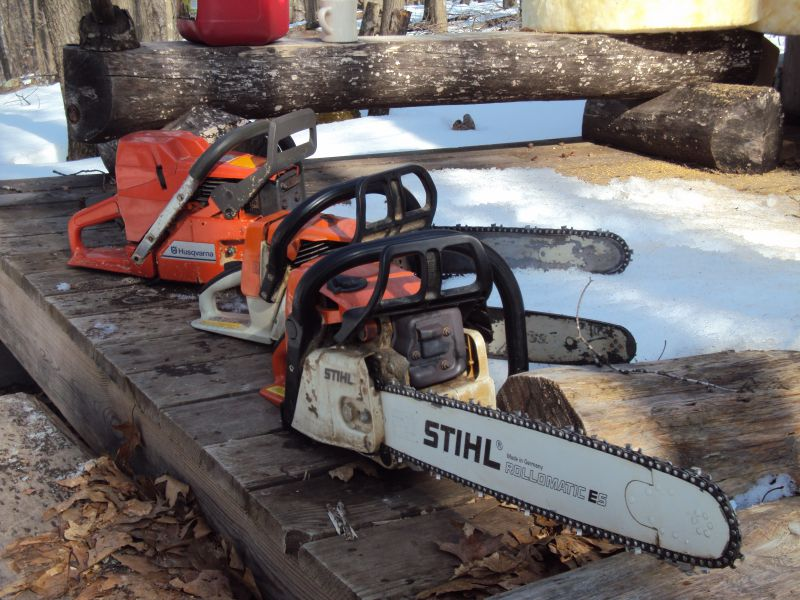 cost of sharpening a chainsaw? - Small Cabin Forum