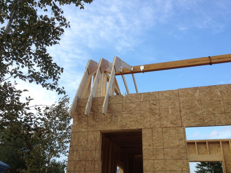 Gambrel Roof Trusses Small Cabin Forum 1
