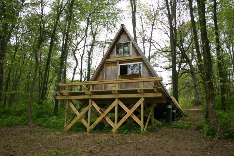 Found Pic Of An A Frame Hut I Want To Build 16x16 Small