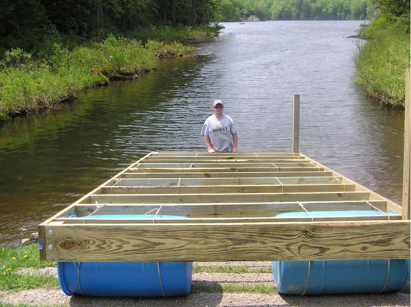 floating dock - Small Cabin Forum