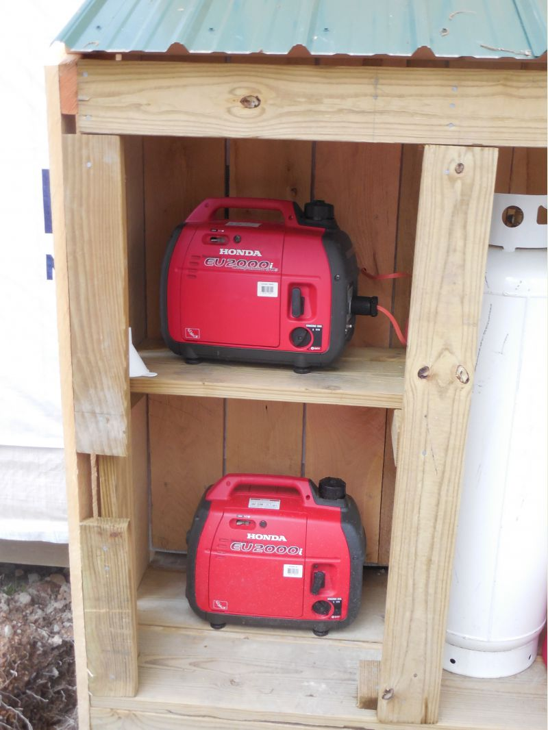 getting generator power inside Small Cabin Forum