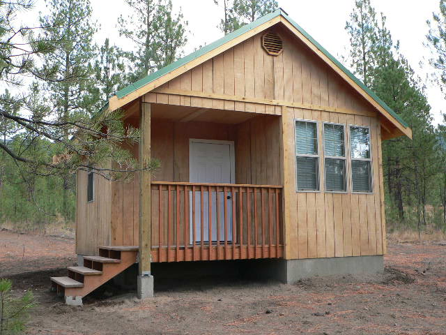 Just built my cabin last summer small cabin forum for Hunting cabins plans