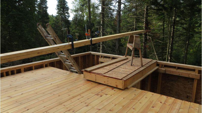 Ridge Beam Size For 16x20 Cabin Small Cabin Forum