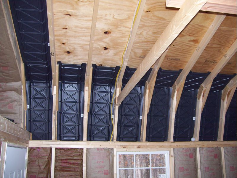 attic knee wall ideas - Cathedral insulation mistake Small Cabin Forum