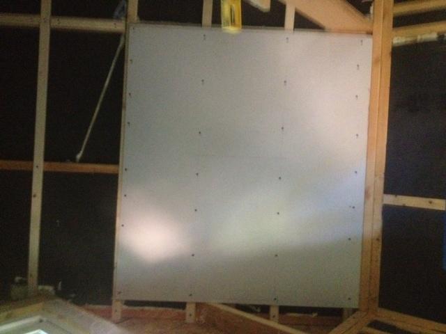 Furred Ceiling Drywall Walls : Ceiling drywall furring strips small cabin forum