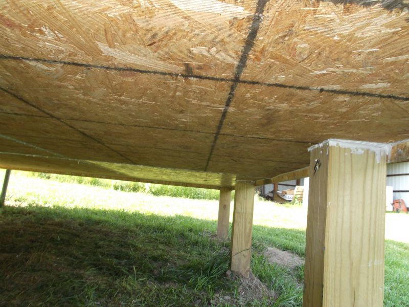 Insulating The Underside Of The Cabin Small Cabin Forum 1