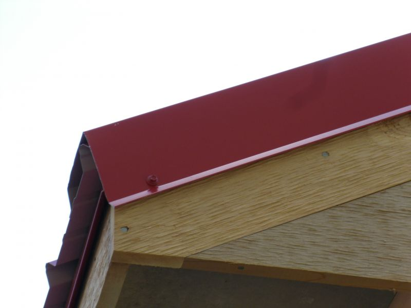 How To Finish Facia On A Metal Roof Small Cabin Forum