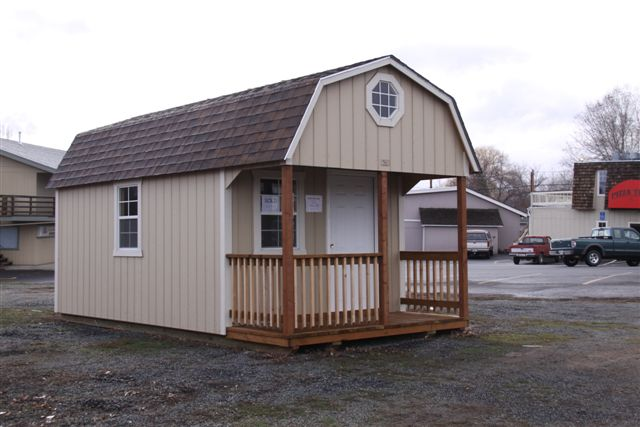 My 10 x 20 prefab camping cabin - Small Cabin Forum