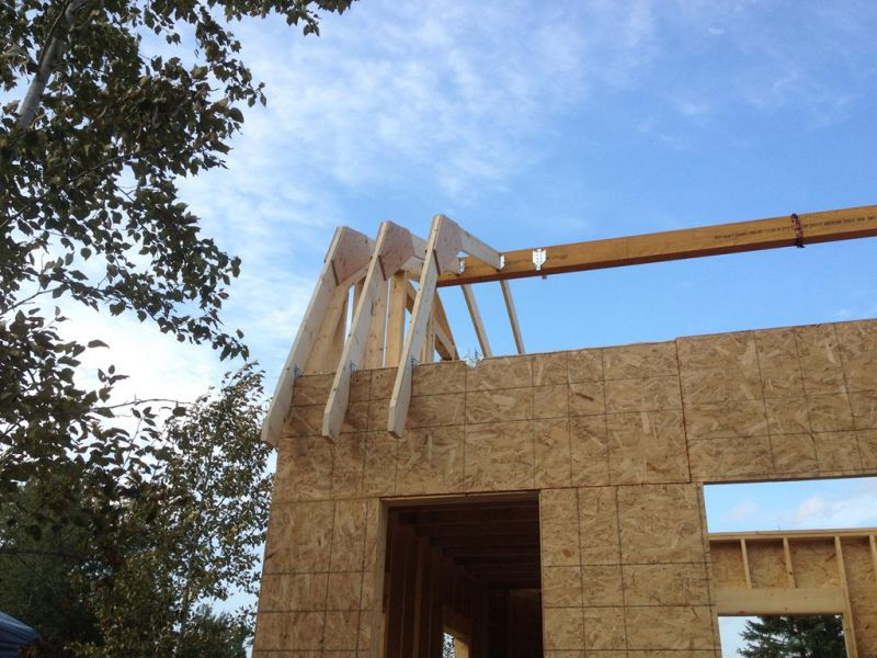 Ridge Beam Roof Construction Too Difficult For A