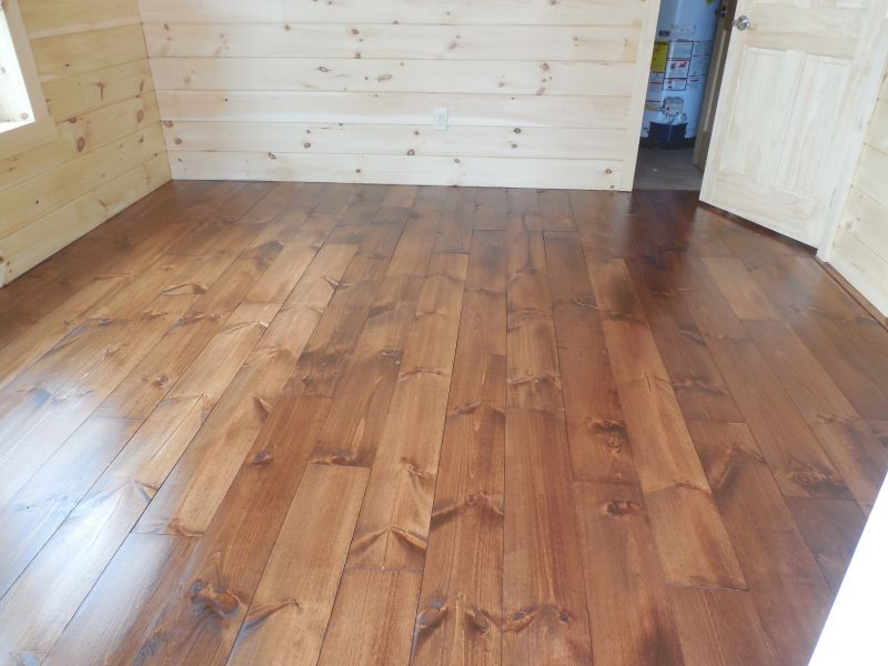 Best Wood Flooring For Off Grid Cabin Small Cabin Forum