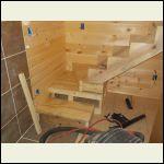 Loft stair work