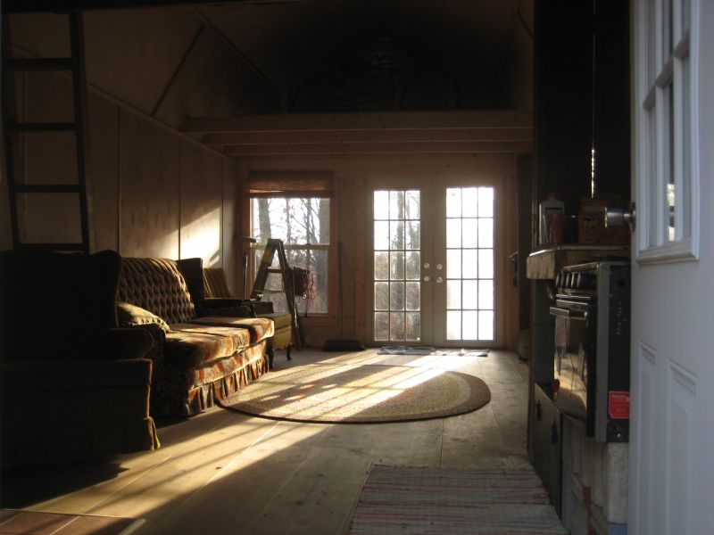 12x24 Derksen Shed Barn Pics Small Cabin Forum