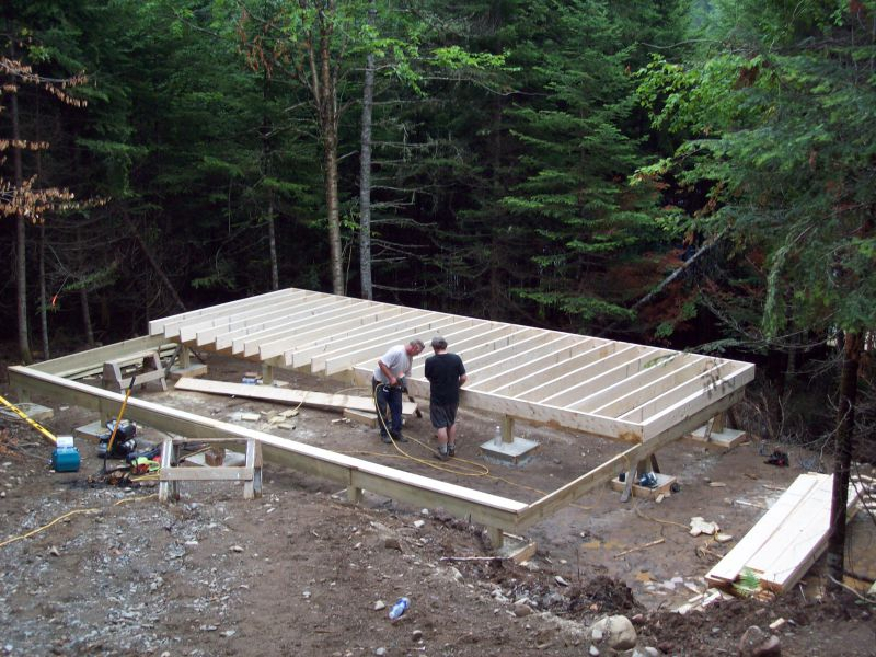 Cabin Foundation On Bedrock Help Small Cabin Forum