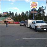 Breakfast stop convoy