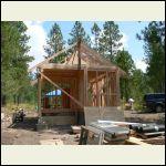 """Installing rafters (2X6, 16"""" OC)"""