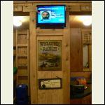 Cabin TV on digital antenna.