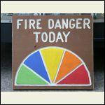 Fire Danger Indicator