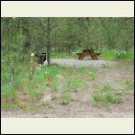 new campsite under construction