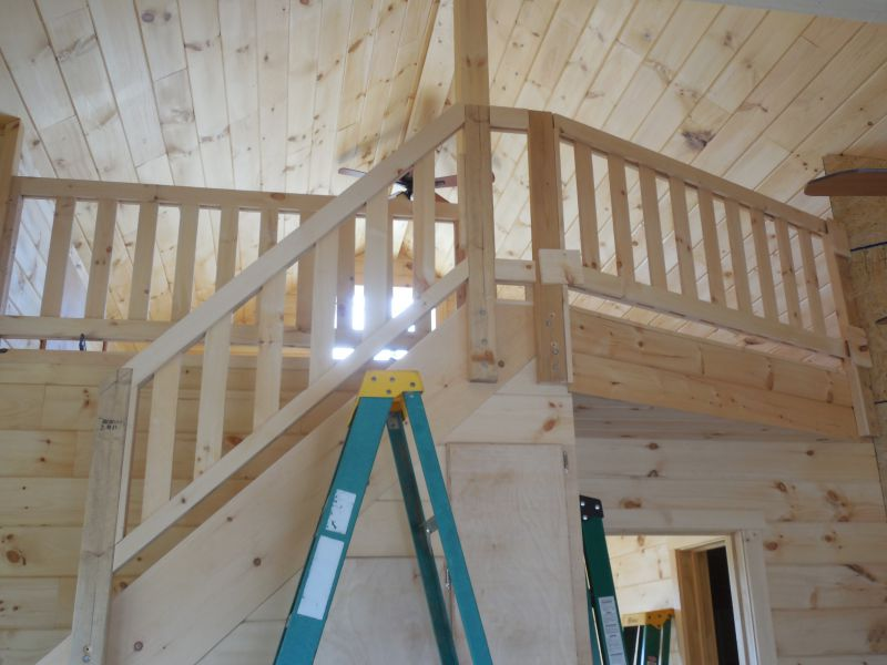Railings on a loft... suggestions? - Small Cabin Forum