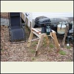 5 minute grill stand