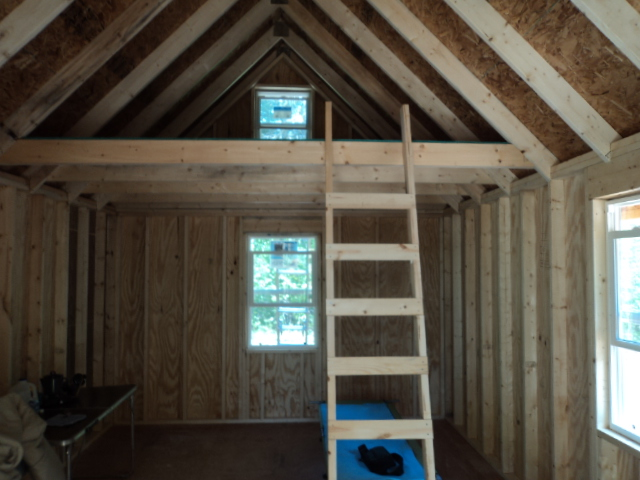 Loft Joists Small Cabin Forum