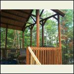 Deck overhang