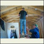 dropping the ceiling for a vented attic