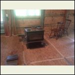 Placing our wood stove