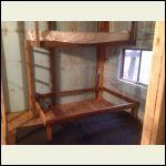 Made bunk beds